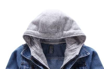 品牌童裝外貿單品男童兒童假2件男孩牛仔外套牛仔衣代發批發