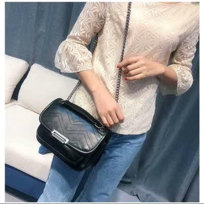 网红邮差流浪包包女新款 2020时尚软皮大容量斜挎单肩洋气链条包