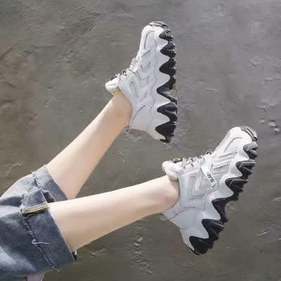 老爹鞋女2020春季新款韩版休闲百搭小白鞋女鞋【品牌】薇慕倾情【货号】1947-16【颜色