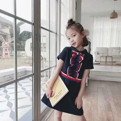 学院风立体胸花连衣裙 预售 3月15日发货