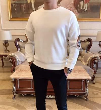 情侣款 男女款 时髦在线 高品质新款 男士休闲纯棉卫衣