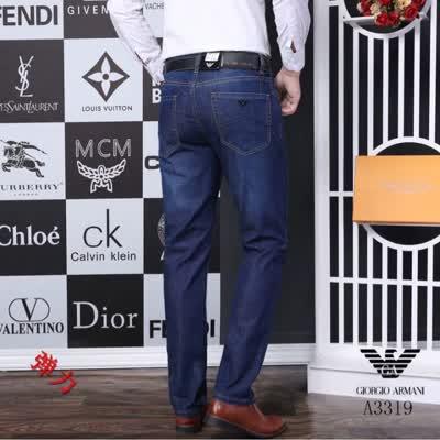 春夏季新款歐美時尚高端品質男裝直筒牛仔褲 采用進口丹寧牛仔面料搭配精致刺繡五金
