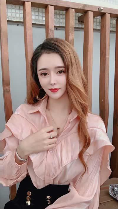 2020春夏时尚潮款韩国丝花边袖衬衫