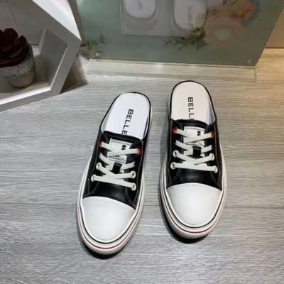新款牛皮半拖鞋