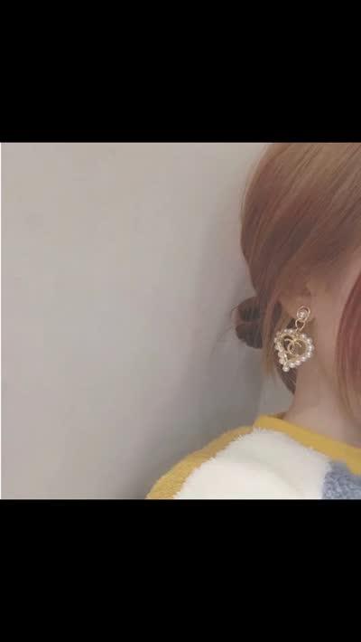 新款2020年早春系列小香双心形珠边短耳坠原版材质/黄铜电镀18k