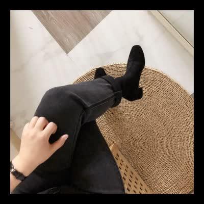 秒杀,韩国短靴,偏小一码~3色,特价商品不退换