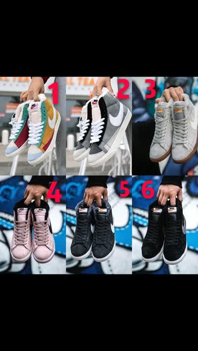 加绒耐家板鞋 猪八革 原标原盒高端1比1质量超级好