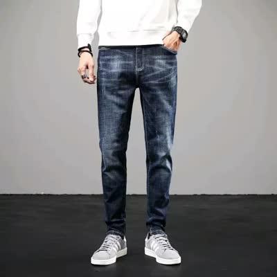 牛仔裤黑色29码蓝色30码秒杀