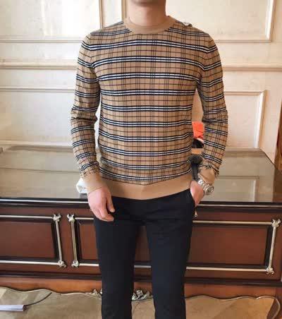 高品质 时髦款式 男士新款长袖毛衣  羊毛衫
