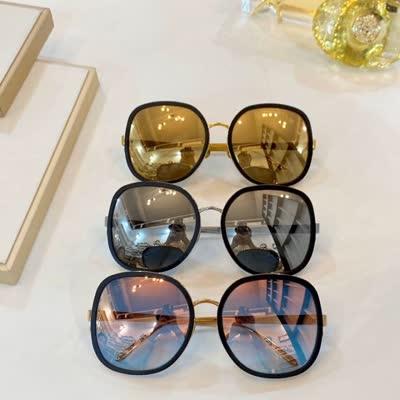 LINROW LFL444 size:63-18-140大圆镜 纯钛镜架!太阳眼镜墨镜